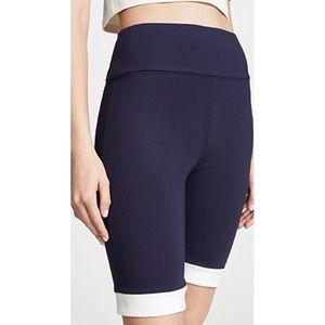 STAUD Shorts - NWT Staud Cruise Jersey Biker Shorts Designer Sz S